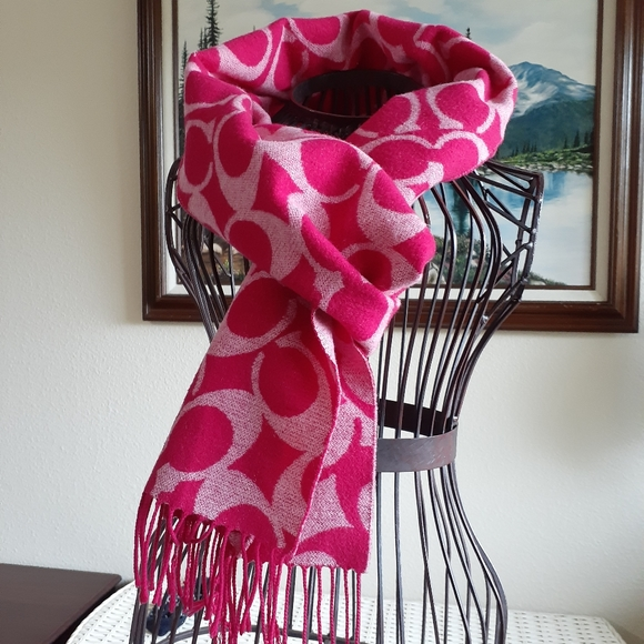 Coach Accessories - Authentic Coach wool scarf